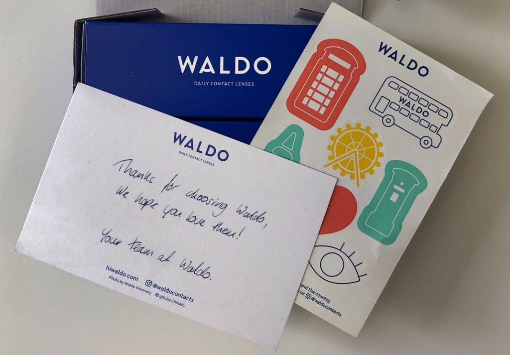 waldo - biglietto ringraziamento personalizzato