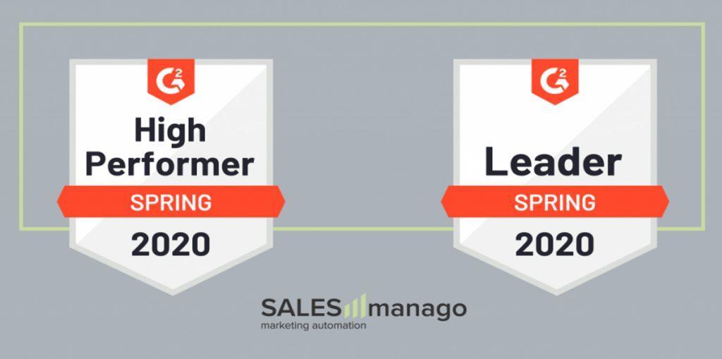 SALESmanago Leader Spring 2020