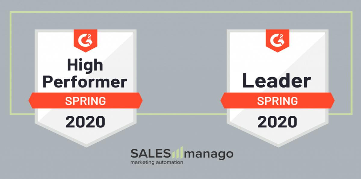 SALESmanago Leader Spring 2020
